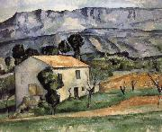 Paul Cezanne Housing painting