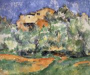 Paul Cezanne house painting