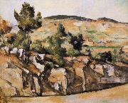 Paul Cezanne Provence mountain oil painting reproduction