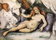 Paul Cezanne Nude oil painting reproduction