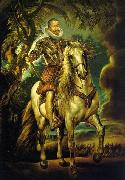 Peter Paul Rubens Equestrian Portrait of the Duke of Lerma, china oil painting reproduction