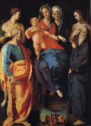 Pontormo Holy Family painting