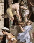 RAFFAELLO Sanzio The Fire in the Borgo oil painting reproduction