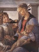 Sandro Botticelli Our Lady of the Son and the Angels painting
