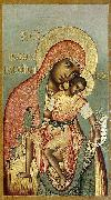 Simon Ushakov Our Lady of Eleus, oil on canvas