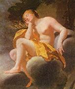 Simon Vouet Sleeping Venus oil painting reproduction