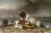 Sir edwin henry landseer,R.A. Saved china oil painting reproduction
