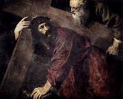 TIZIANO Vecellio Christ Carrying the Cross oil painting reproduction