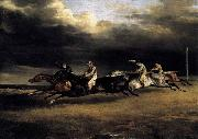 Theodore Gericault The Epsom Derby oil painting reproduction