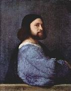 Titian This early portrait oil painting reproduction