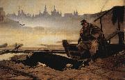 Vasily Perov The drowned, oil painting reproduction