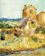Vincent Van Gogh The Old Mill oil painting reproduction
