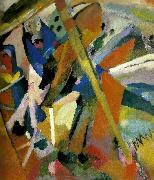 Wassily Kandinsky saint george oil painting reproduction