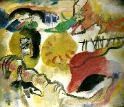 Wassily Kandinsky improviseation 27,garden of lov oil painting reproduction
