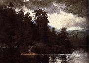 Winslow Homer A first Lenk Lake oil painting reproduction