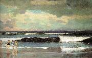 Winslow Homer Beach oil painting reproduction