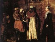 Winslow Homer Hostess s visit painting