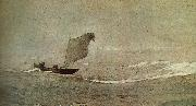 Winslow Homer Vessels away by strong wind china oil painting artist