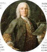 charles burney handel oil on canvas