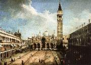 charles de brosses Piazza San Marco in Venice oil on canvas