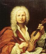 charles de brosses Violinist and composer Antonio Vivaldi oil on canvas