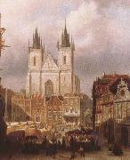 ralph vaughan willams mk the old market place in prague oil