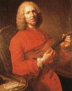 rameau jean philippe rameau with his violin, a famous portrait by joseph aved oil