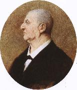richard wagner the austian composer anton bruckner a portait by h. kaulbac oil