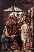 unknow artist The Adoration of the Magi oil painting reproduction