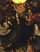 unknow artist Assumption of the Virgin oil painting reproduction