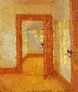Anna Ancher interior oil painting reproduction