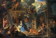Charles le Brun Adoration by the Shepherds oil on canvas