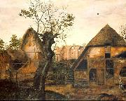 Cornelis van Dalem Landscape with Farm oil on canvas