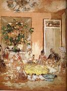Edouard Vuillard Lunch oil painting reproduction