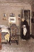 Edouard Vuillard Housewife painting