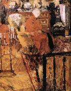 Edouard Vuillard Vial mother wearing a red jacket china oil painting artist