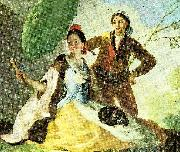 Francisco de Goya the parasol painting