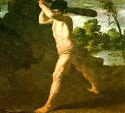 Francisco de Zurbaran hercules and the cretan bull painting