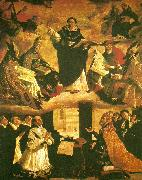Francisco de Zurbaran the apotheosis of st china oil painting artist