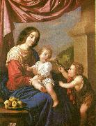 Francisco de Zurbaran virgin and child with st, china oil painting artist