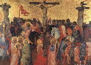 GADDI, Agnolo Crucifixion oil painting reproduction