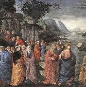 GHIRLANDAIO, Domenico Calling of the First Apostles oil painting reproduction