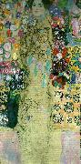 Gustav Klimt kvinnoportratt oil painting reproduction