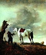 Philips Wouwerman skimmel  och pojke china oil painting reproduction