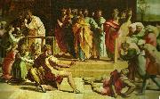 Raphael the death of ananias china oil painting artist