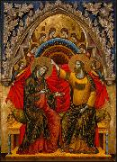 unknow artist Coronation of the Virgin oil painting reproduction