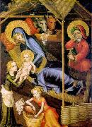 unknow artist The Nativity oil painting reproduction