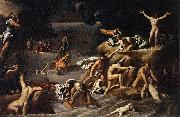 Agostino Carracci The Flood oil on canvas