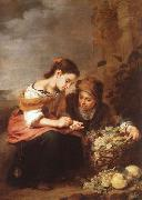 Bartolome Esteban Murillo Vendedores de fruta china oil painting artist