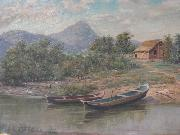 Benedito Calixto Sao Vicente Bay oil on canvas